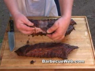 Baby Back Ribs Barbecue by the BBQ Pit Boys