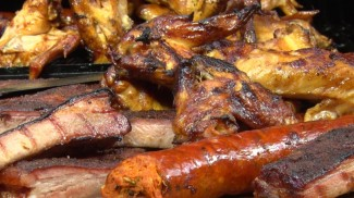 BBQ Ribs and Wings by the BBQ Pit Boys