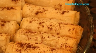Galaktoboureko Greek Custard Phyllo Dessert Recipe
