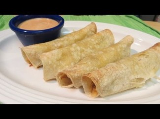 How to make Chicken and Cheese Taquitos – Baked NOT fried! – The Wolfe Pit