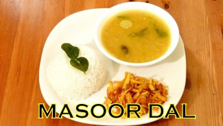 How to make MASOOR DAL with Lime Leaf – A Fresh Lentil Recipe