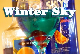 How to Make the Winter Sky Cocktail – theFNDC.com