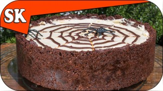 NUTELLA CHOCOLATE HALLOWEEN CHEESECAKE – No Bake