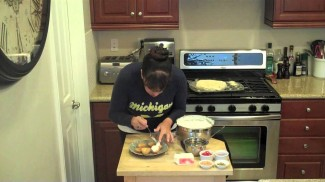 Osmalieh Outhmallieh Dessert Recipe-Mediterranean Custard filled Phyllo Nest Recipe by DedeMed!!!