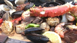 Steak and Seafood Surf & Turf by the BBQ Pit Boys