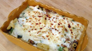 Veggie Pasta Bake – Recipe by Laura Vitale – Laura in the Kitchen Episode 144