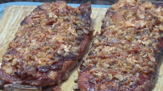 Bacon Crusted Spare Ribs recipe by the BBQ Pit Boys