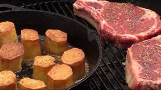 Potatoes and Steak by the BBQ Pit Boys