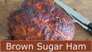 How to Bake a Ham – Brown Sugar Glaze — The Frugal Chef