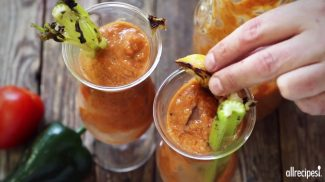 Drink Recipes – How to Make Grilled Gazpacho Bloody Mary