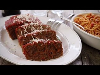 Ground Beef Recipes – How to Make Italian Meatloaf