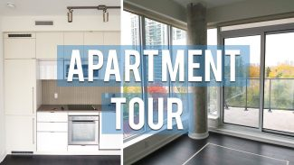 EMPTY APARTMENT TOUR + GIVEAWAY