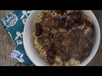 Stew Recipes – How to Make Jamaican Oxtail with Broad Beans